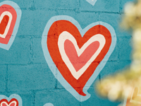 namalowane serce
